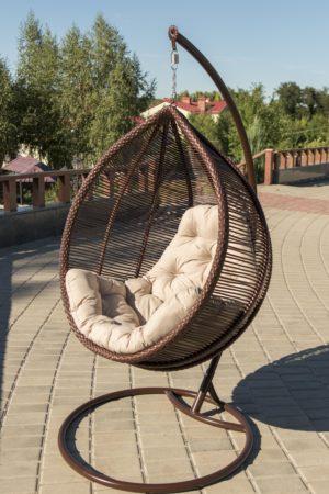 подвесное кресло Кит на улице