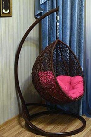 подвесное кресло кокон в детской