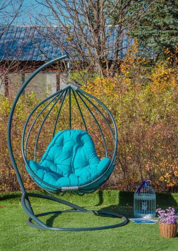 Подвесное кресло из стали Адель