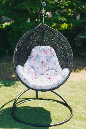 Плетёное круглое кресло яйцо ЮМК Фабрика