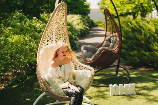Узкие подвесные кресла Леди ЮМК фабрика Украинские Конструкции