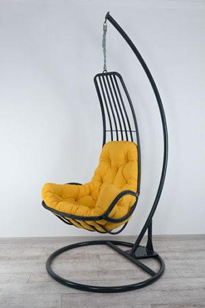 металлическое кресло гамак Дели