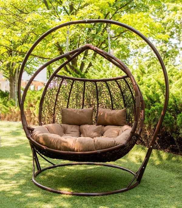 крісло кокон двохмісне лежаче