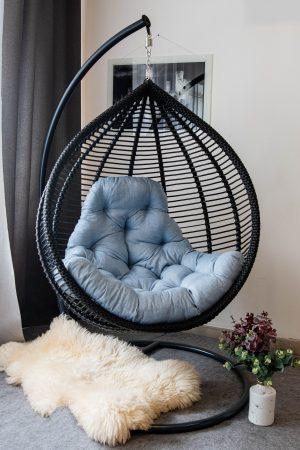 Кресло кокон Кит в строгом стиле