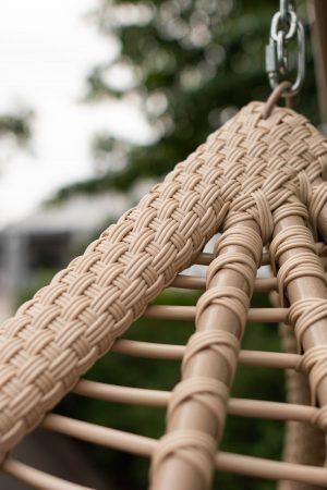 плетіння по металевому кріслу підвісному