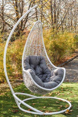 Подвесные кресла ЮМК Леди белое