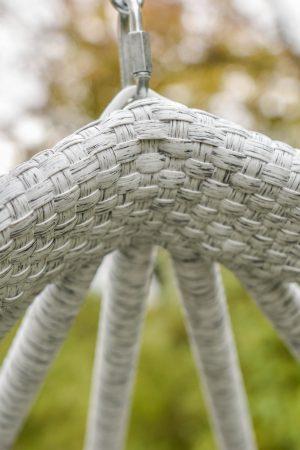 плетение на кресле коконе ЮМК Фабрика