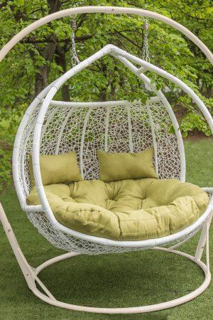 Кресло кокон из ротанга подвесное Галант Фортуна