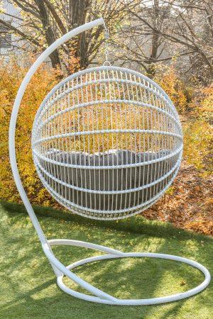крісло шар плетене арієль