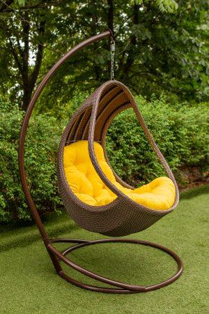 плотное плетение на кресле подвесном Комфорт люкс