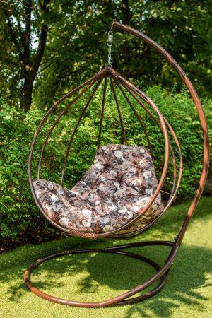 кресло шар подвесное металлическое