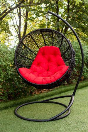 кресло кокон подвесное фиеста юмк чёрное