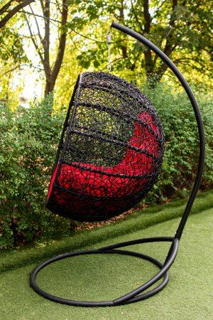 кресло шарик подвесное на держателе
