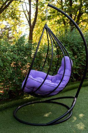 подвесное кресло качалка кокон Адель