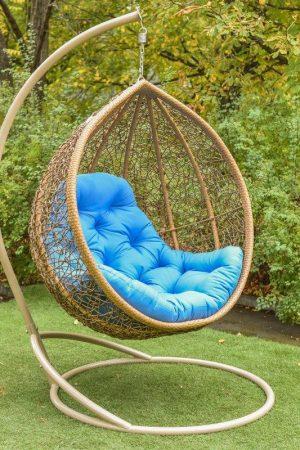 Красивое подвесное кресло Веста с усиленным ободом
