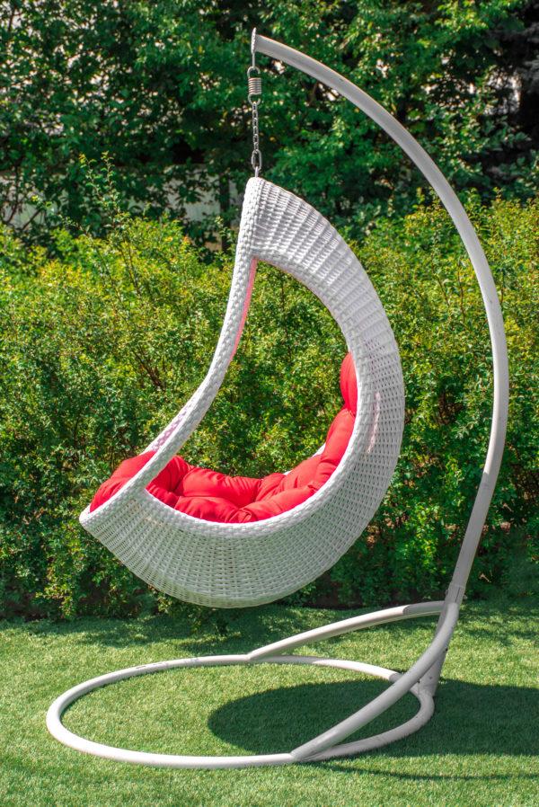подвесное кресло комфорт люкс с густым плетением