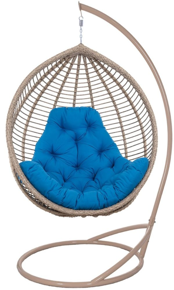 Подвесное кресло с горизонтальным плетением