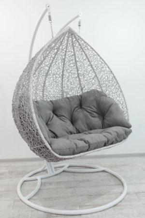подвесное кресло Дабл в доме в цвете берёза