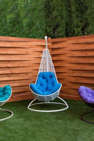 компактные подвесные кресла Леди
