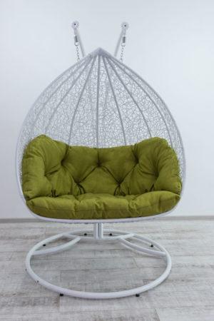 Дабл белый подвесное кресло