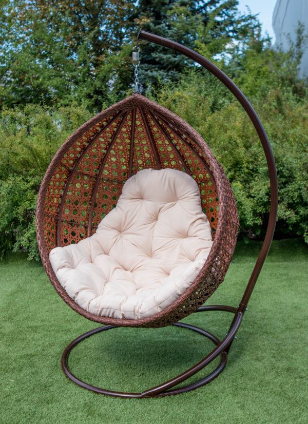 Кресло Асоль плетение широким ротангом