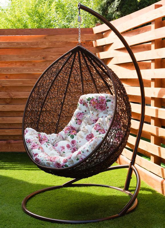 кресло кокон Глория с подушкой эпик