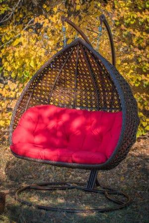 Подвесное кресло качеля Дабл премиум