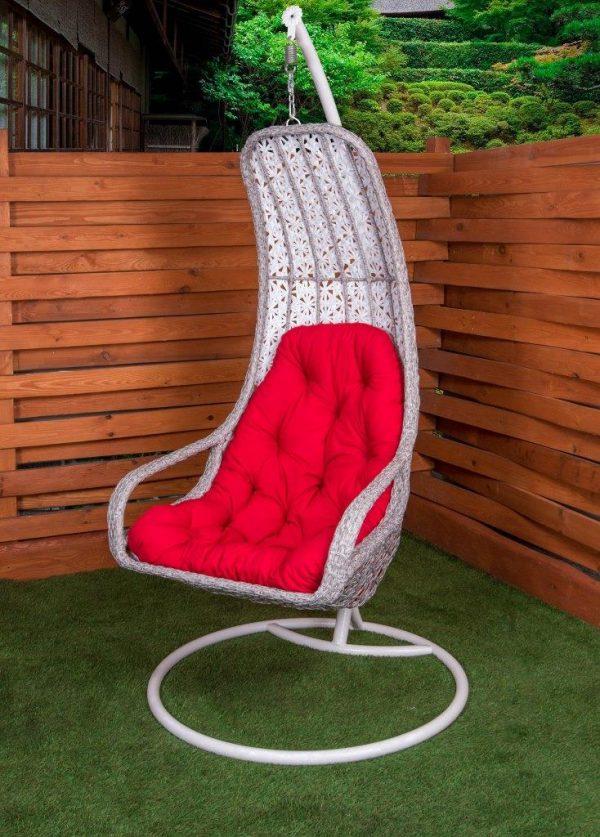 Кресло подвесное гамак из ротанга ЮМК