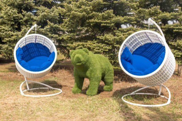 два кресла престиж садовый декор