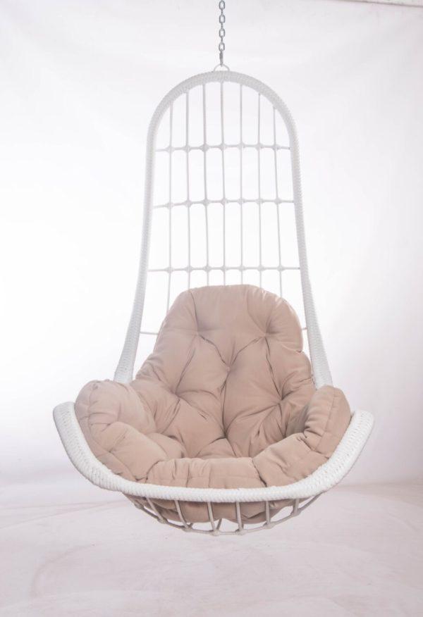 кресло легато с бежевой подушкой