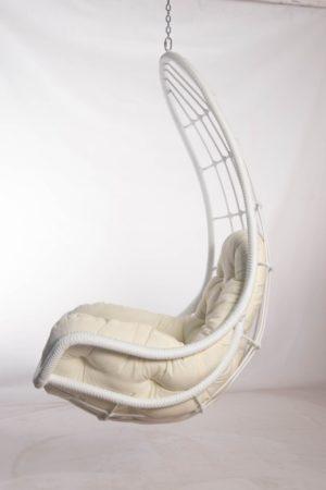 подвесное кресло легато белое