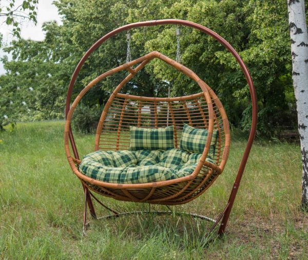 Подвесное кресло для двоих Галант Премиум
