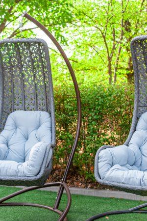 крісла кокони Багама зі стійкою