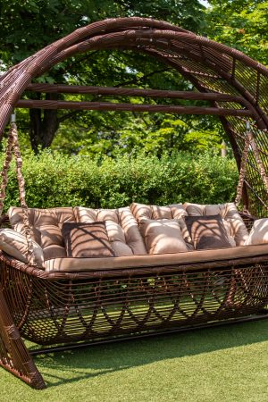 Арочные садовые качели Мароу