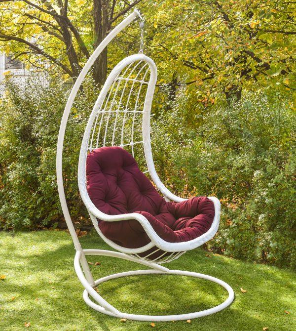 Подвесное кресло из ротанга Легато