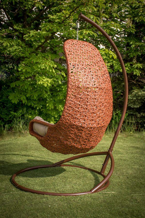кресло подвесное в стиле барокко прованс