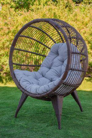 садовое кресло манго плетёное ротангом