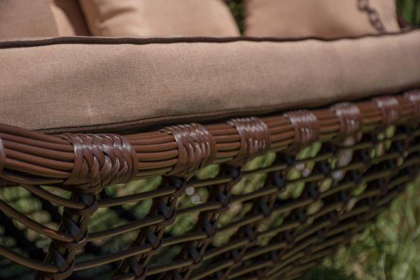сиденье с матрасом на садовой качеле