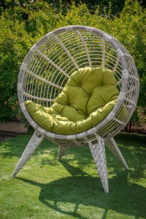 садовое кресло кокон на ножках