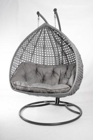 большое подвесное кресло кокон