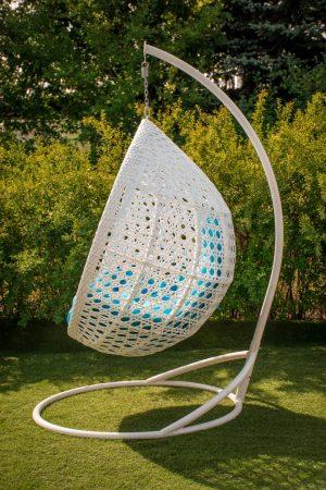Асоль подвесное кресло с премиум плетением