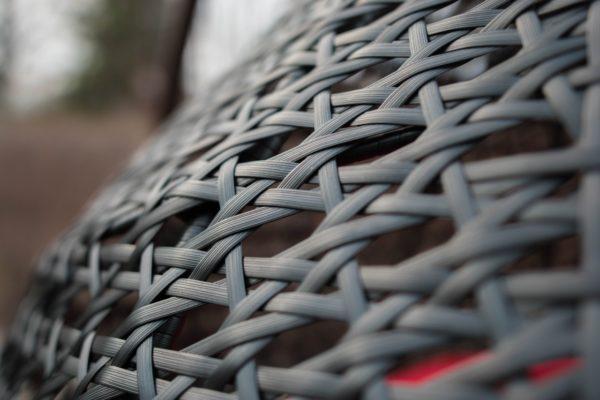 плетение широким ротангом Дабл Премиум