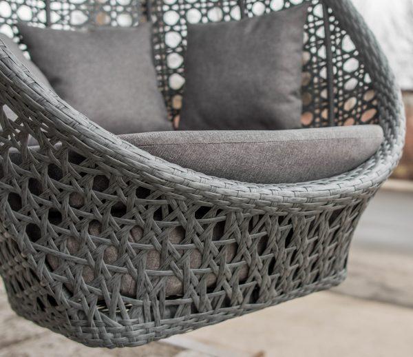 плетение серый искусственный ротанг