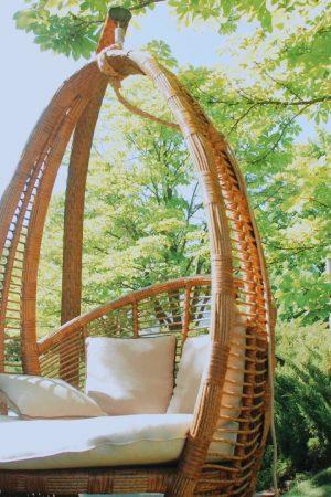 Кресло подвесное Кристи на стойке от ЮМК