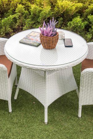 Комплект мебели для двоих из ротанга