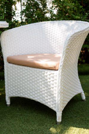 крісло стілець з ротангу
