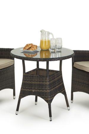 столовый комплект из ротанга лион