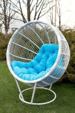 Кресло садовое из ротанга Бьянка