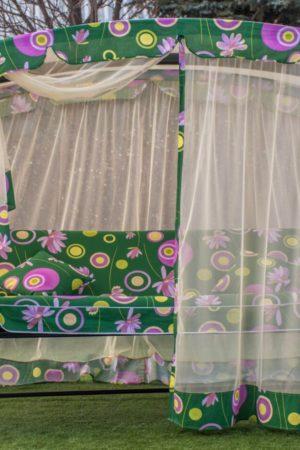 качели в сад Милан с итальянской ткани
