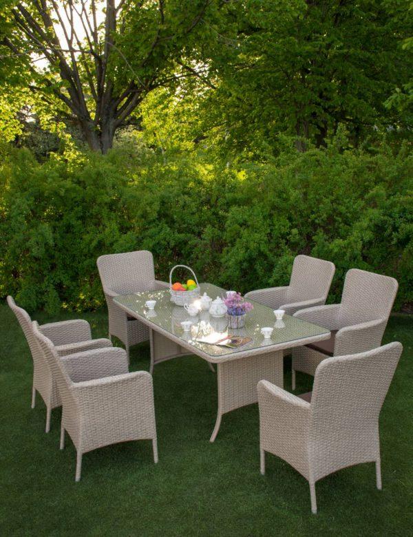 Мебель садовая стол и кресла
